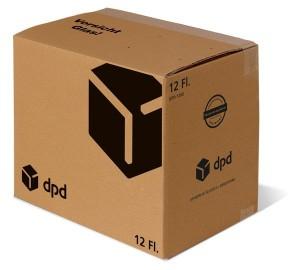 12er Versandsystem DPD STEHBOX KOMPAKT inkl. 6er Einlage