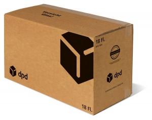 18er Versandsystem DPD STEHBOX PREMIUM inkl. 3er Premium-Einlage