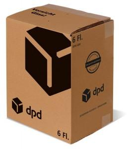 6er Versandsystem DPD STEHBOX KOMPAKT inkl. 6er Einlage